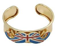 Широкий браслет - Флаг Великобритании, фото 1