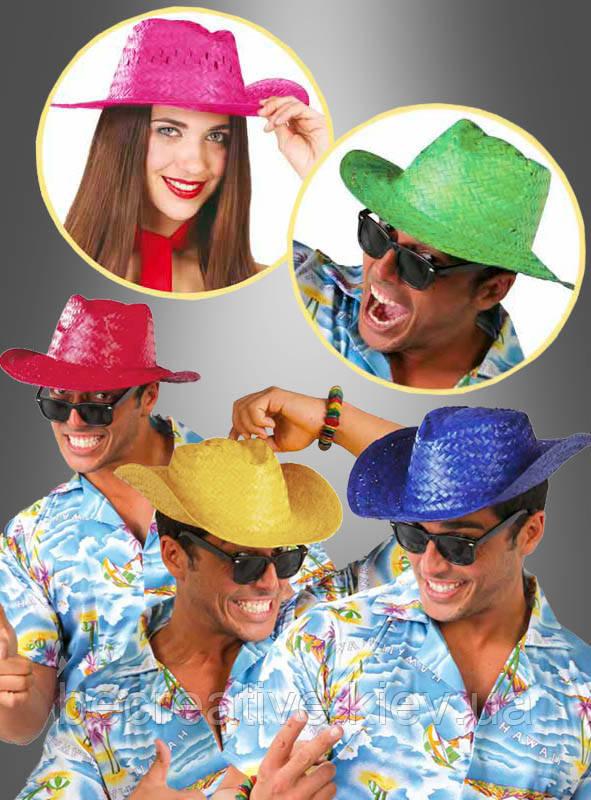 Ковбойская соломенная шляпа для горячих пляжных вечеринок
