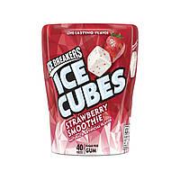 Жвачки Ice Cubes Strawberry Smoothie 40 шт