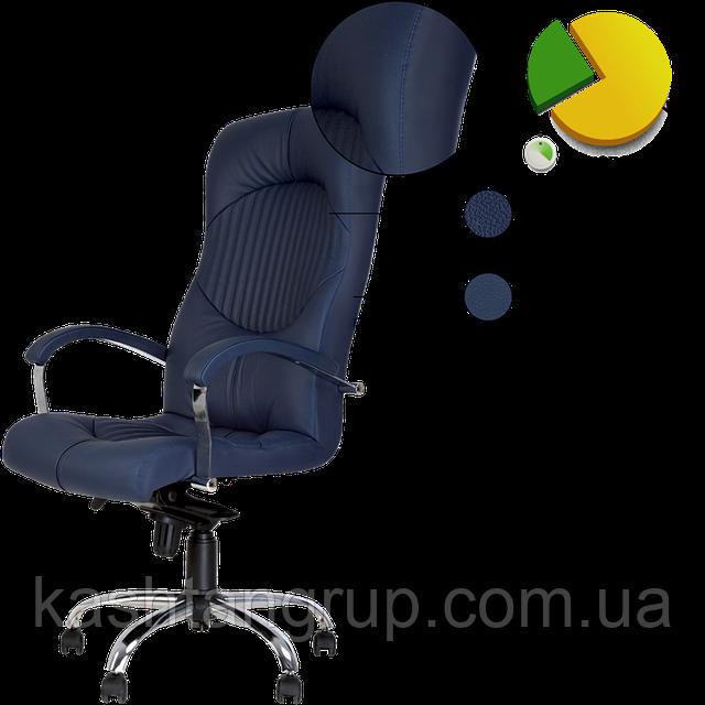 Кресло GERMES steel MPD CHR68 Екошкіра RODEO