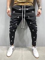 Мужские спортивные штаны с черепами (черные) - Турция 5195