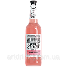 New Products Group Cider APPS Grapefruit 5.5% 0.5 L