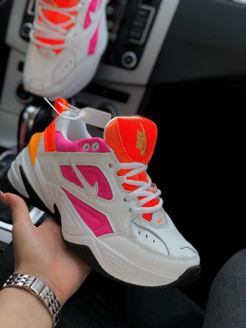 Кроссовки Nike M2K Tekno Найк М2К Текно кожа 🔥 Найк женские кроссовки 🔥