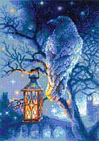 Набор для вышивки крестом Риолис 1876 «Мудрый ворон»