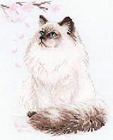 Набор для вышивки крестом Риолис 1878 «Мяу-дзен»
