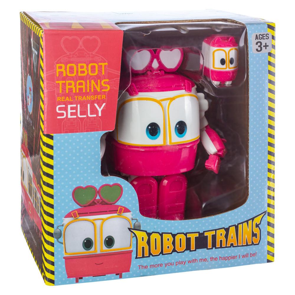 Робот Поезд Robot Trains Селли (Selly) розовый