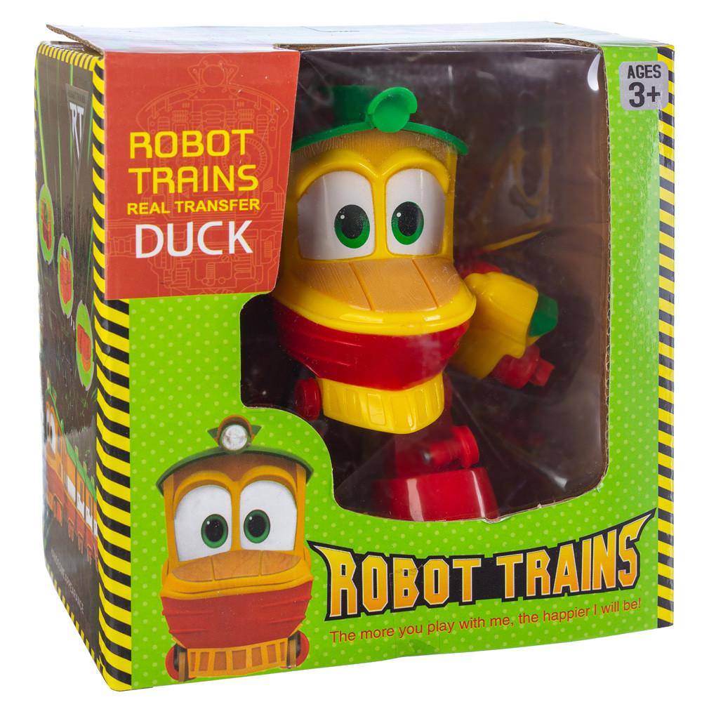 Робот Поезд Robot Trains Утенок (Duck) желтый