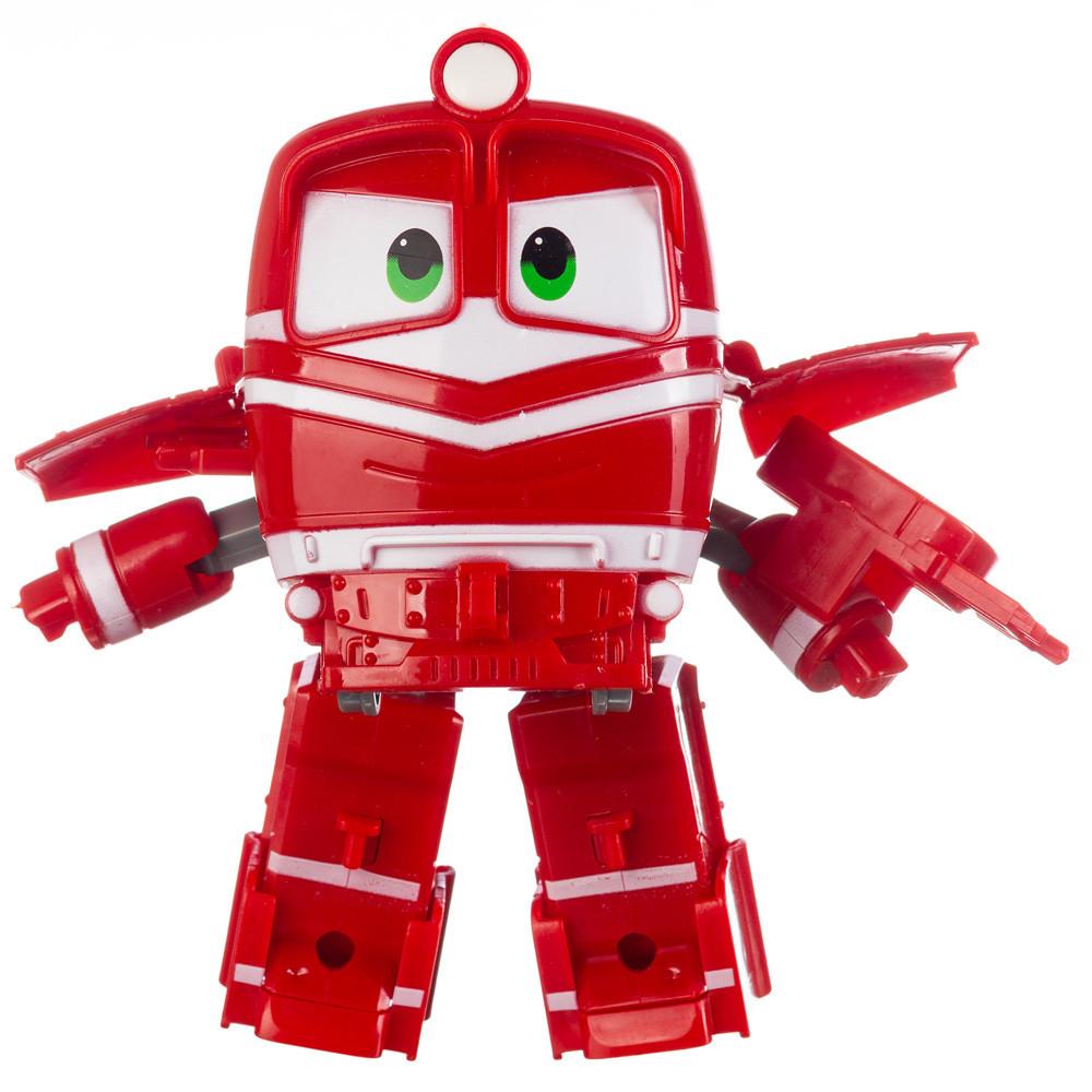 Робот Поезд Robot Trains Альф (Alf) красный