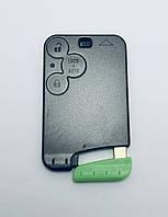 Корпус ключ-карта Renault 3 кнопки