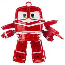 Робот Поїзд Robot Trains Альф (Alf) червоний
