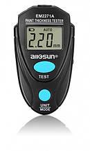 Толщиномер тестер лакокрасочного покрытия автомобиля ALLOSUN ЕМ2271А с батарейкой (HDKFLLFK78FJJFFF)