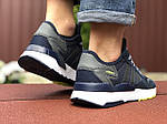 Мужские кроссовки Adidas Nite Jogger (темно-синие) 9372, фото 4