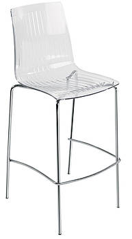 Барный стул Papatya X-Treme BSL прозрачно-чистый