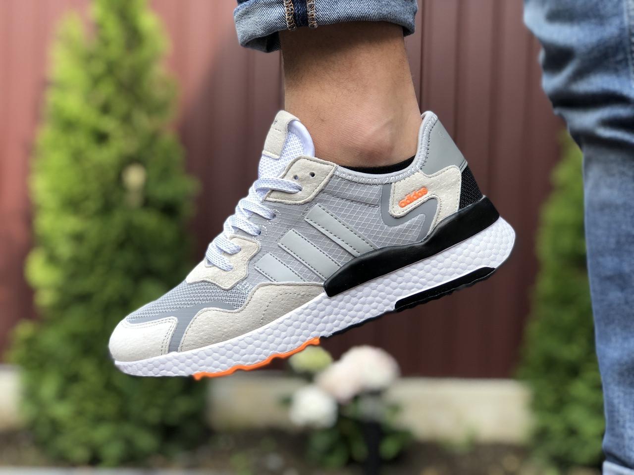 Мужские кроссовки Adidas Nite Jogger (бежевые) 9375