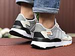 Мужские кроссовки Adidas Nite Jogger (бежевые) 9375, фото 2