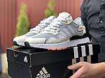 Чоловічі кросівки Adidas Nite Jogger (бежеві) 9375, фото 4