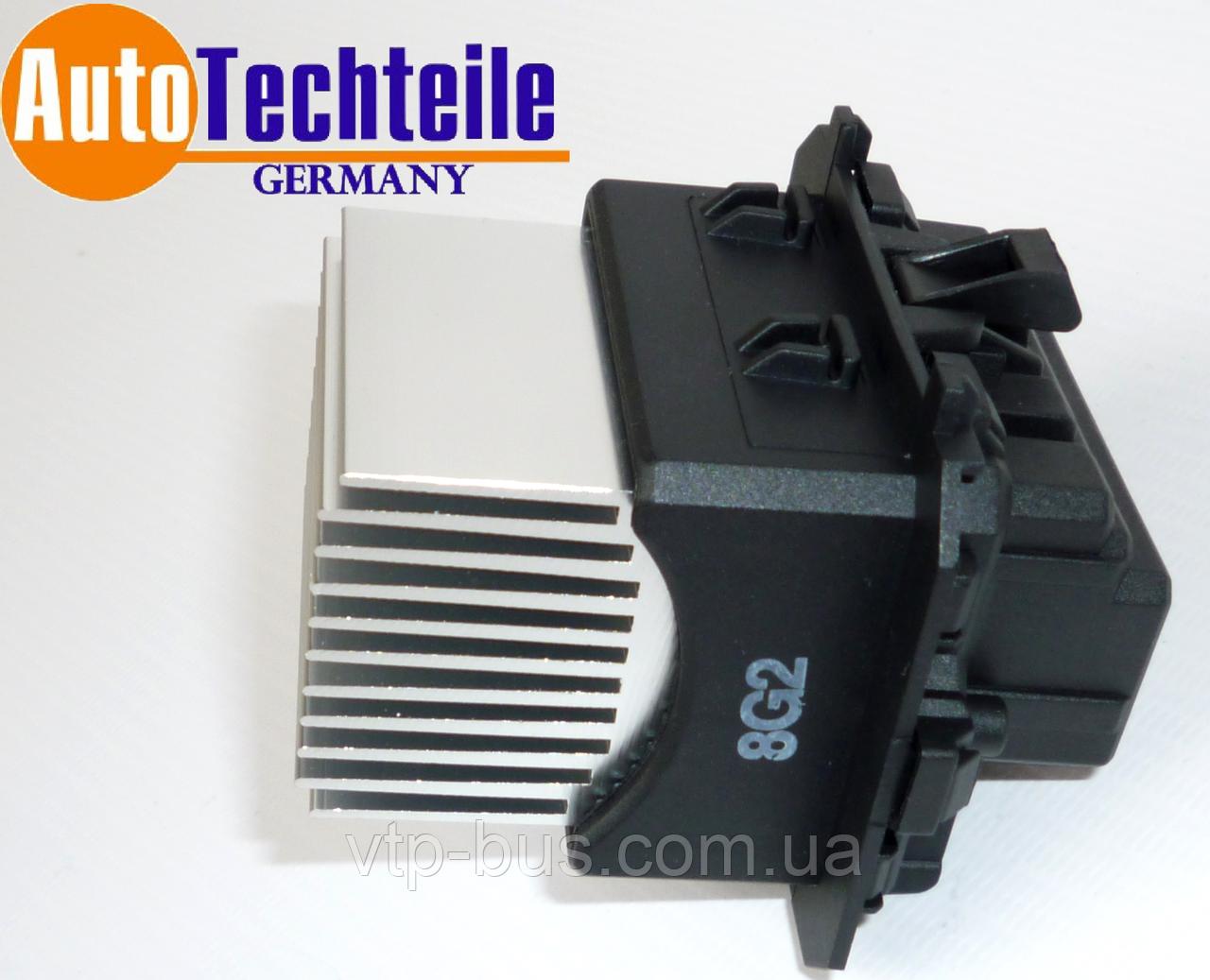 Резистор скорости вращения вентилятора на Renault Trafic III 1.6dCi с 2014... AutoTechteile (Германия) 5090111