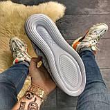 🔥 Кроссовки Nike Air Max 720 Gray Clear Sole Найк Аир Макс 720 🔥 Найк мужские кроссовки 🔥, фото 2