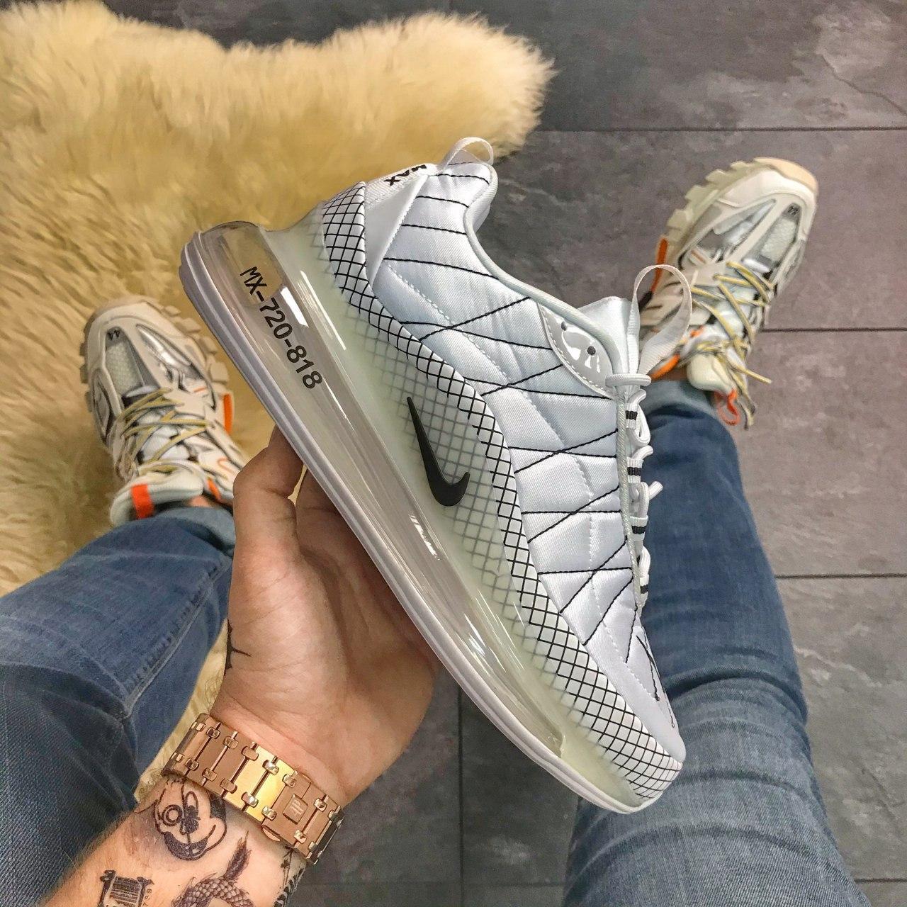 🔥 Кроссовки Nike Air Max 720 Gray Clear Sole Найк Аир Макс 720 🔥 Найк мужские кроссовки 🔥