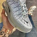🔥 Кроссовки Nike Air Max 720 Gray Clear Sole Найк Аир Макс 720 🔥 Найк мужские кроссовки 🔥, фото 7