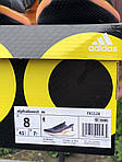 Чоловічі кросівки Adidas Alphaboost (чорно-помаранчеві) 9376, фото 2