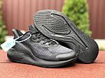 Мужские кроссовки Adidas Alphaboost (черные) 9377, фото 5