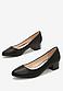 Туфлі жіночі чорні на підборах Т1075, фото 4