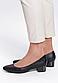 Туфлі жіночі чорні на підборах Т1075, фото 5