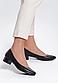 Туфлі жіночі чорні на підборах Т1075, фото 7