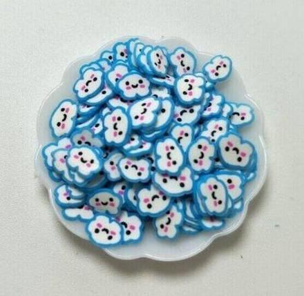 Фимо «Голубое облачко» для слаймов (50582), фото 2