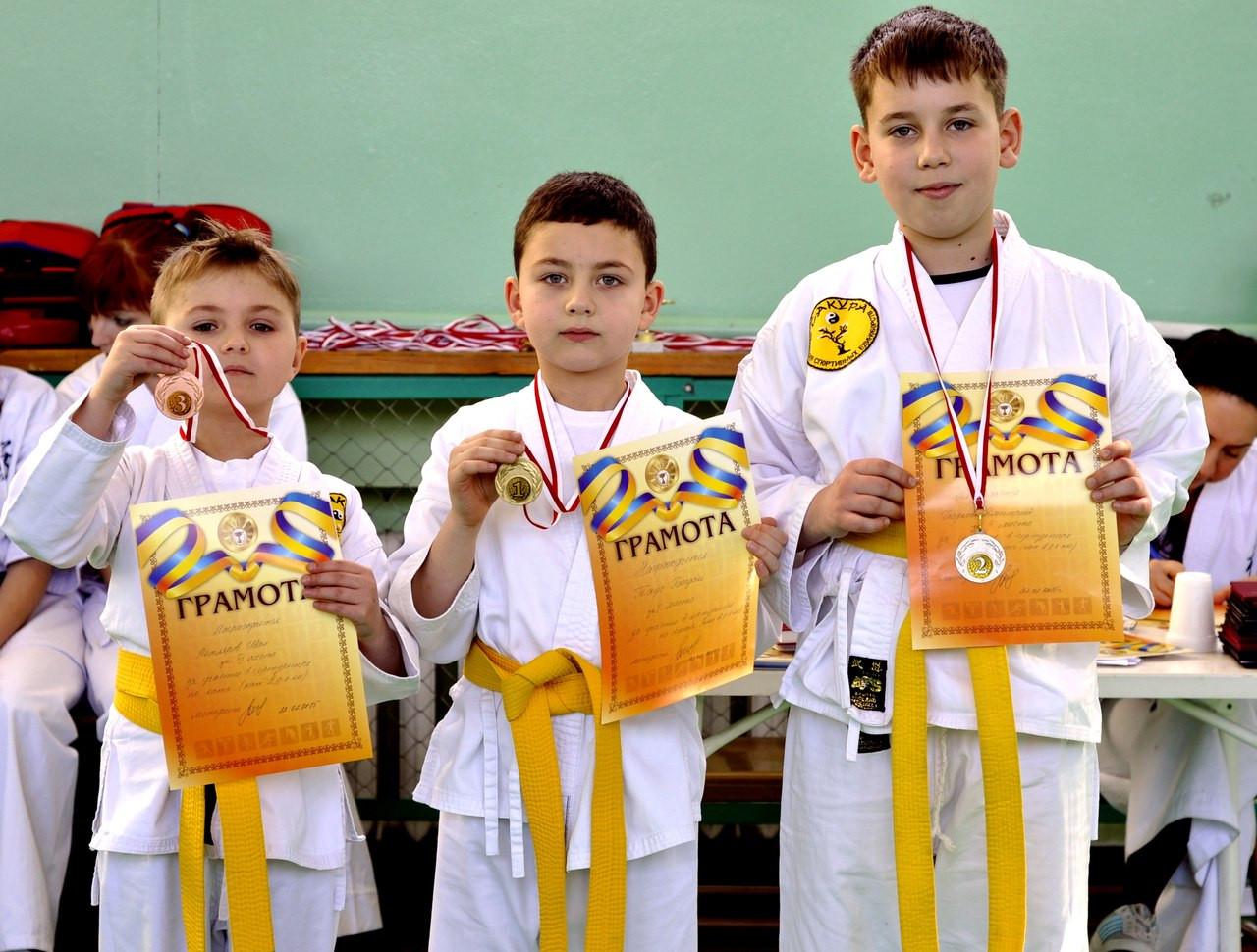 Спортивные соревнования - Детский центр «Сакура» в Днепре