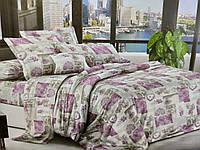 Комплект постельного белья полуторный Бязь хлопок 100% Беларусь 150*215 Нежность