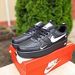 Мужские кроссовки Nike Air Force LV8 (черные) 10166, фото 6