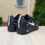 Мужские кроссовки Nike Air Force LV8 (черные) 10166, фото 5