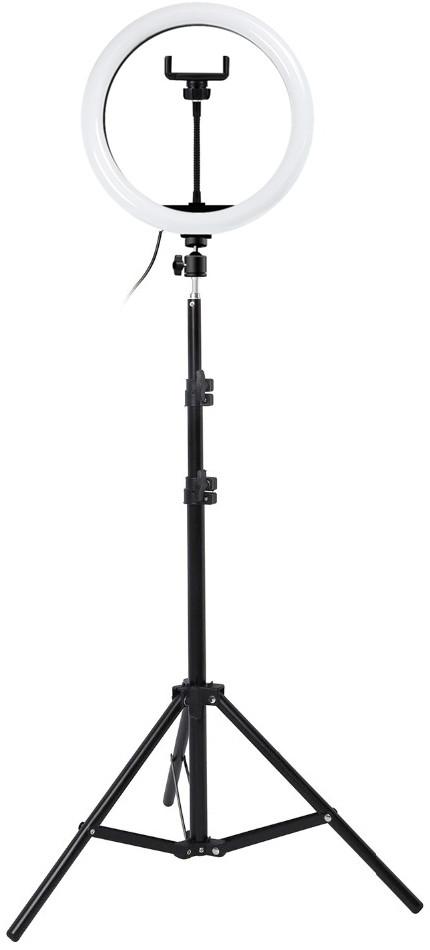 Комплект M-30 Кільцева LED лампа 30 см + Штатив 210 см