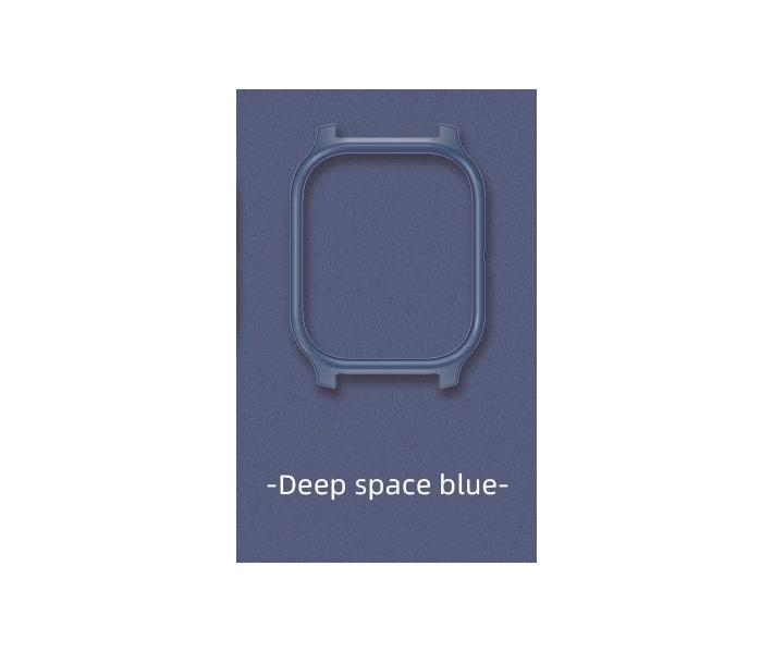 Защитный бампер для смарт часов Amazfit GTS, Gray-blue