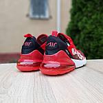 Мужские кроссовки Nike Air Max 270 Supreme (красные) 10169, фото 5
