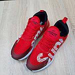 Мужские кроссовки Nike Air Max 270 Supreme (красные) 10169, фото 9