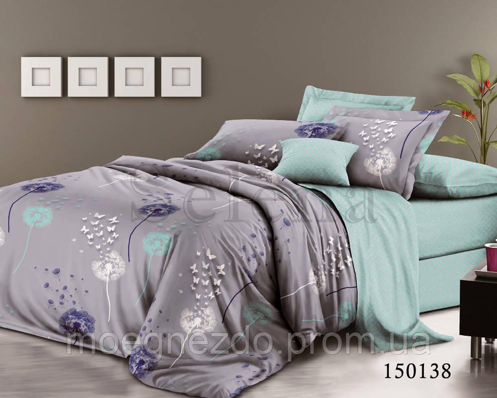 Полуторное постельное белье бязь хлопок Selena Селена