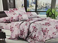 Комплект постельного белья полуторный Бязь хлопок 100% Беларусь 150*215 Цветы