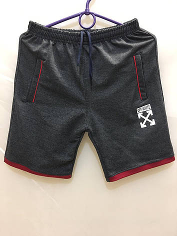 Подростковые шорты для мальчика Off White р.12-18 лет, фото 2