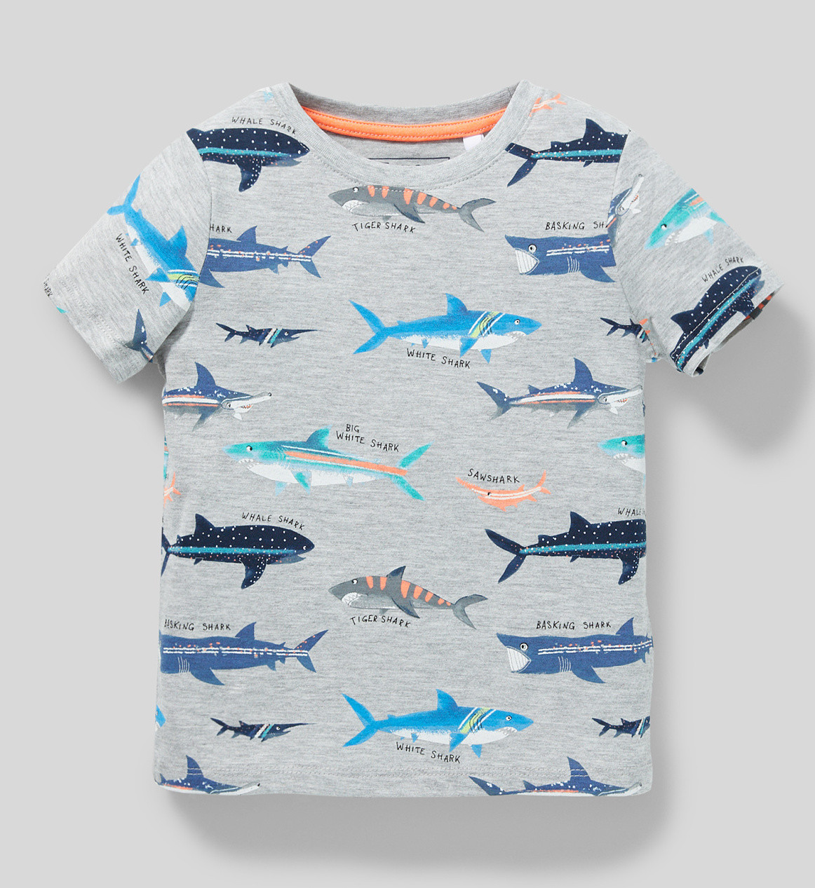 Детская футболка с акулами для мальчика C&A Германия Размер 110, 116