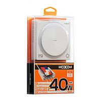 Беспроводная зарядная станция Moxom KH-62 PD + USB (Quick Charge 3.0, 3USB, 3A, 1.3м, белая), фото 1