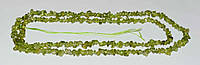 Бусы хризолит (оливин, перидот) крошка