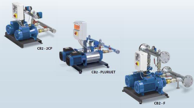 Станции повышения давления в системе водоснабжения COMBIPRESS CB2