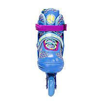 Роликові ковзани Nils Extreme NJ4613A Size 30-33 Blue, фото 3