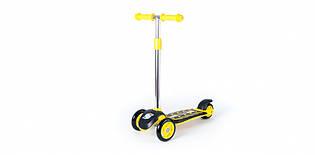 Самокат четырехколесный детский ORION 00164 (Желтый )
