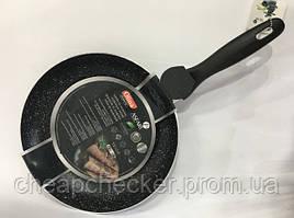 Сковорода Olina 22 См Гранітне Антипригарне Покриття Тонка