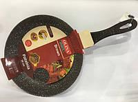 Сковорода Olina Гранит Brown 30 См Антипригарное Покрытие, фото 1