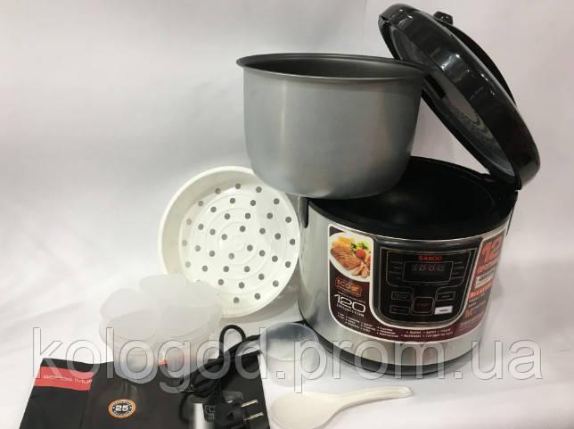Мультиварка С Йогуртницей Banoo BN-7001 6 Л 1500 Вт 12 Программ